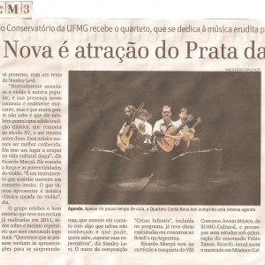 Corda Nova (O Tempo 25 Abril 2011)